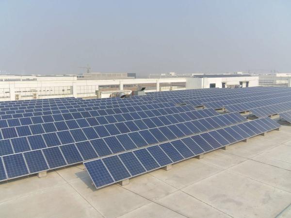 工商业屋顶光伏发电系统解决方案120KW