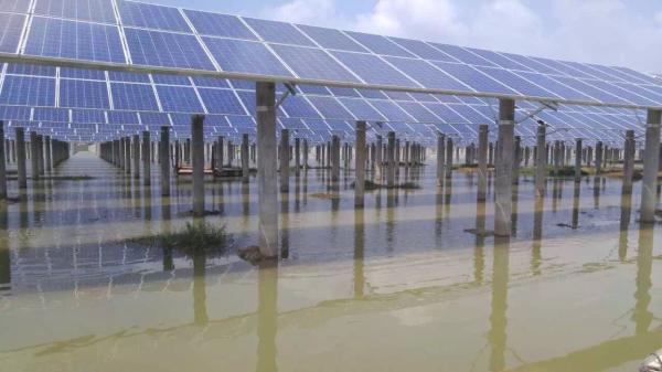 工商业屋顶光伏发电系统解决方案100KW