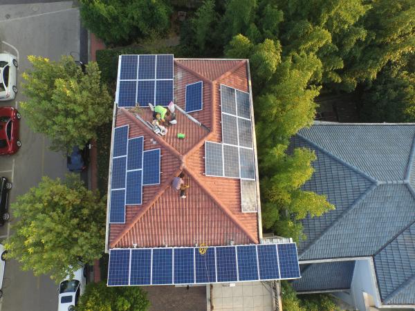 家用用户太阳能并网发电系统5KW