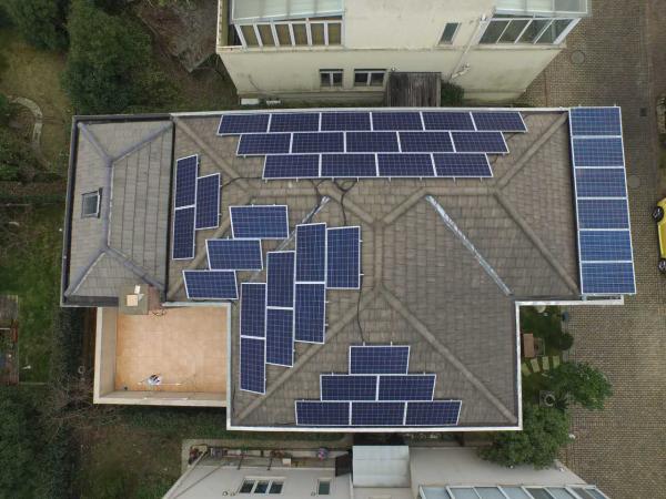 家用用户太阳能并网发电系统12KW