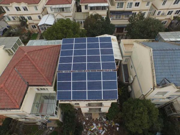 家用用户太阳能并网发电系统10KW